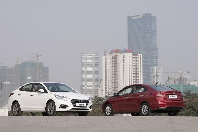 Vừa  ra thị trường, Hyundai Accent 2018 đã hút khách hàng