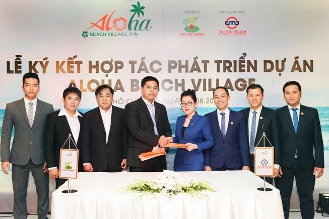 Thiên Minh hợp tác Việt Úc phát triển giai đoạn 2 dự án Aloha