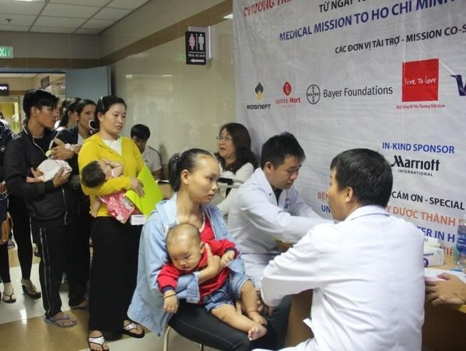 200 triệu hỗ trợ phẫu thuật miễn phí cho trẻ em dị tật hàm mặt