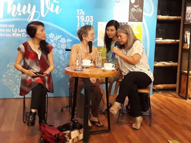 Nhà văn Nguyễn Thị Thụy Vũ tái xuất ở tuổi 80