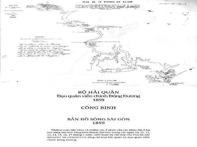 Công bố 5 bản đồ Pháp tấn công Sài Gòn chưa từng được tiết lộ
