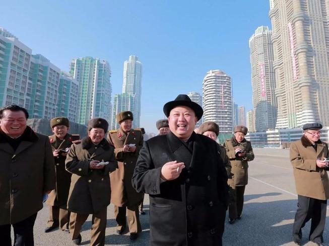 Mỹ soạn nghị quyết trừng phạt ông Kim Jong-un