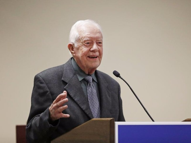 Cựu Tổng thống Jimmy Carter gửi ông Trump lời khuyên