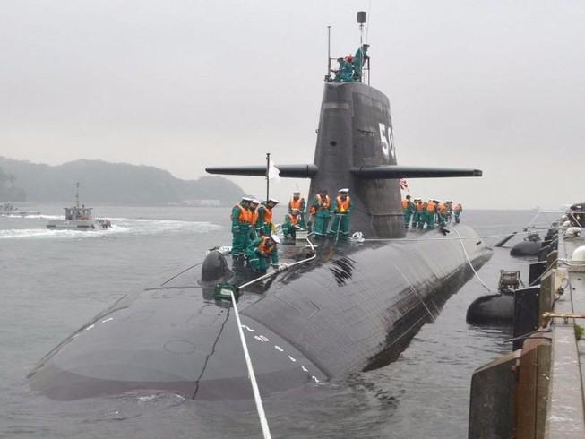 Ấn Độ định mua 6 tàu ngầm Nhật đối phó Trung Quốc