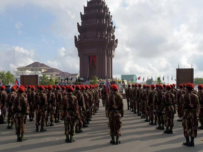 Campuchia sắp tập trận chung với Trung Quốc