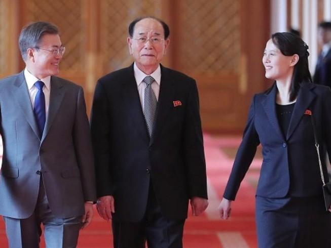 Ông Kim Jong-un mời ông Moon Jae-in qua Triều Tiên