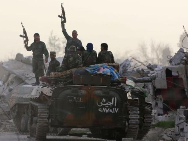 Ngoại ô thủ đô Syria, giao tranh ác liệt tiếp diễn