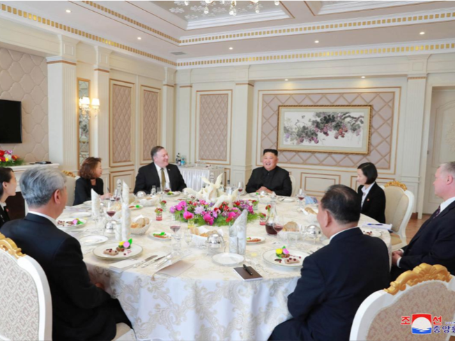 Cuộc gặp giữa 2 ông Kim và Pompeo 'có hiệu quả và tuyệt vời'