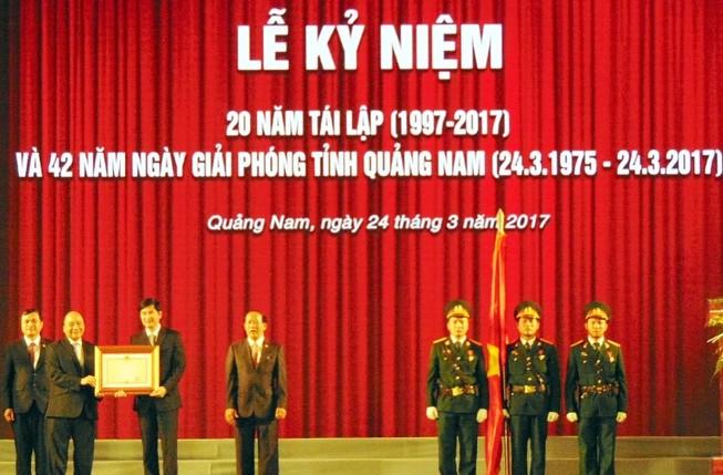 Quảng Nam phát triển vượt bậc sau 20 năm tái lập tỉnh