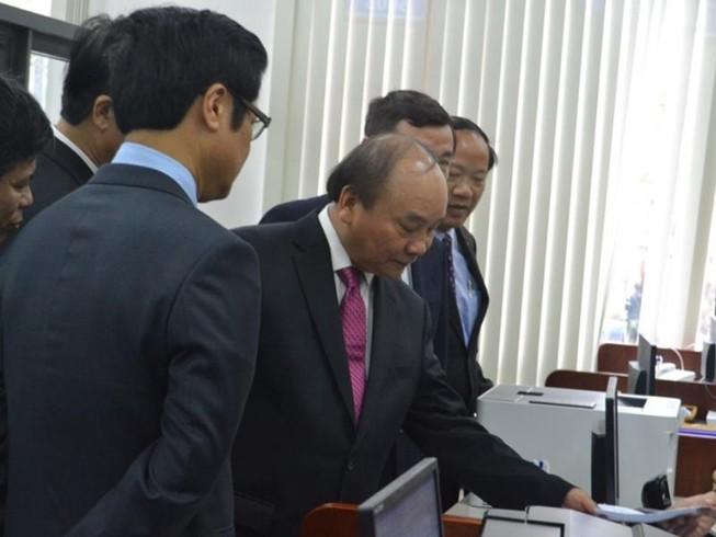 Thủ tướng dự khai trương TT hành chính công Quảng Nam