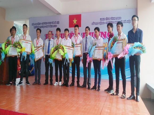 Vĩnh Long đoạt giải cao trong hội thi tay nghề toàn quốc 2018