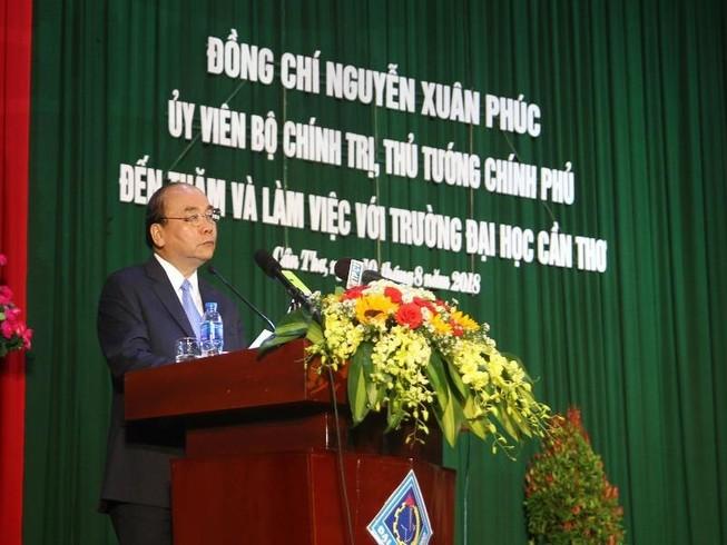 Thủ tướng kỳ vọng Đại học Cần Thơ vào tốp đầu thế giới