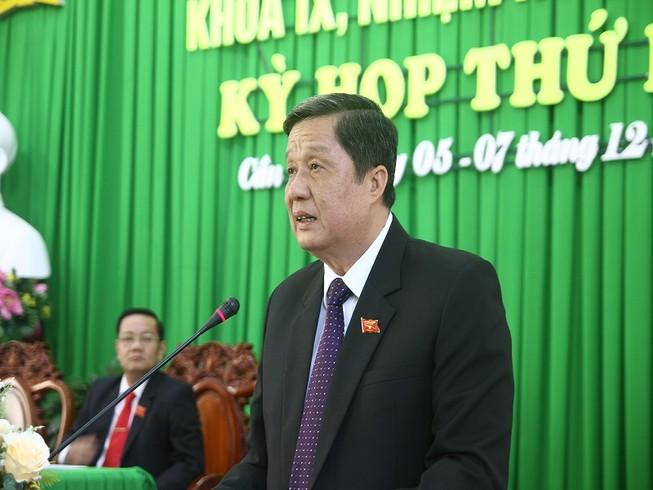 Chủ tịch HĐND TP Cần Thơ có 100% phiếu tín nhiệm cao