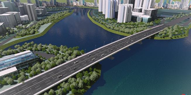 Nhà đầu tư địa ốc cùng TP làm cầu qua đảo Kim Cương