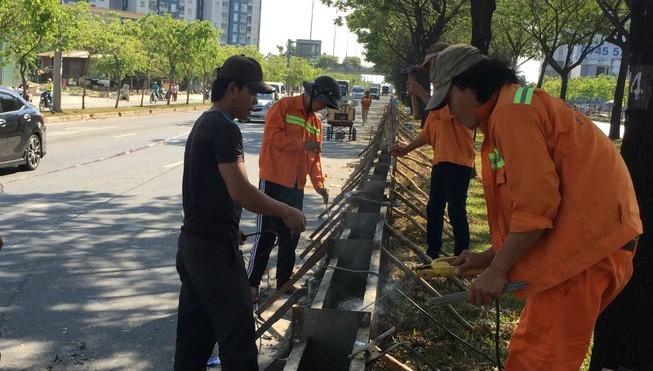 120 tỉ đồng nâng cao mặt đường Võ Văn Kiệt