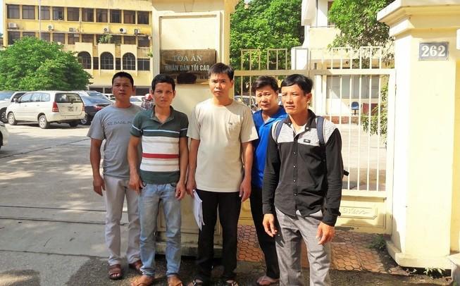 5 người bị oan 'đòi' văn bản kháng nghị từ TAND Tối cao