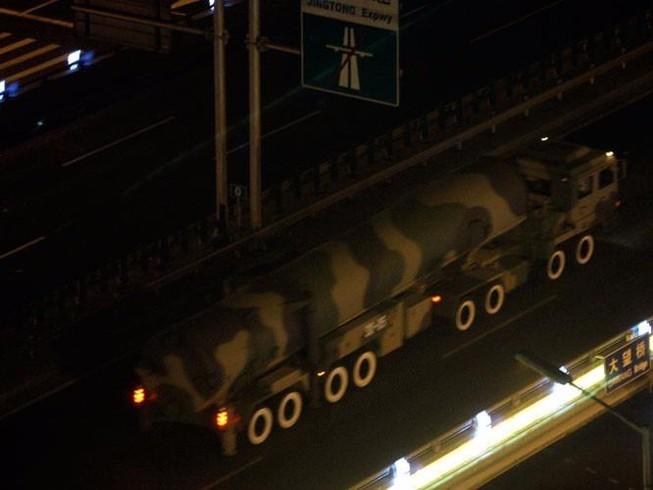 Trung Quốc bố trí tên lửa đạn đạo xuyên lục địa gần Nga