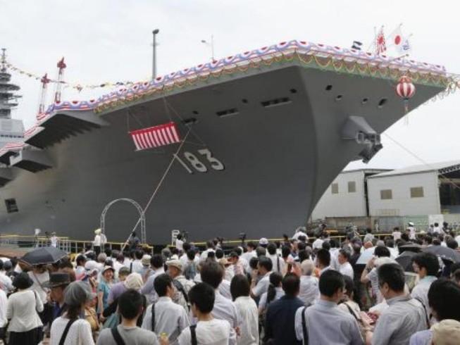 Tàu sân bay Nhật đến biển Đông: Thông điệp gì cho Mỹ?