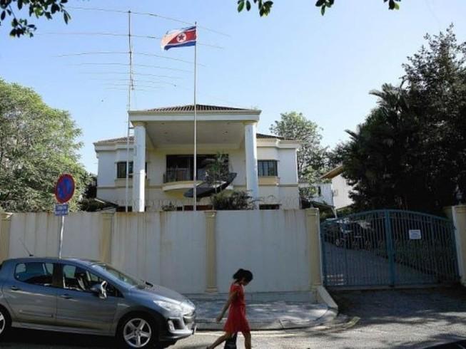 Cảnh sát Malaysia tới đại sứ quán Triều Tiên thẩm vấn