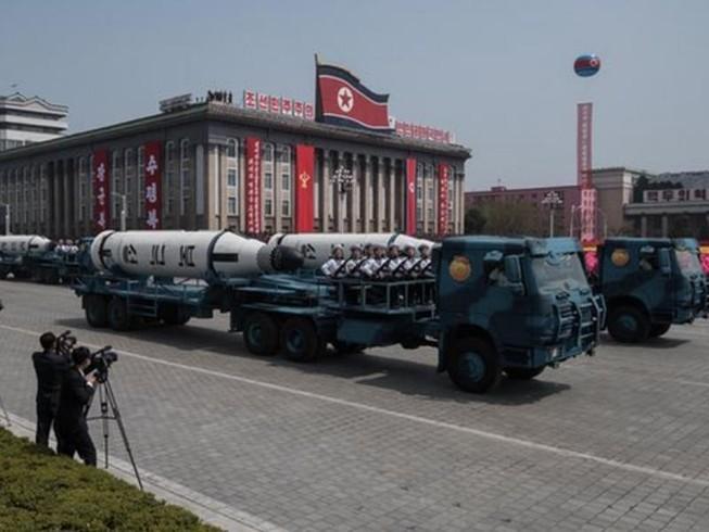 Tên lửa mới của Triều Tiên có thể chỉ có vỏ