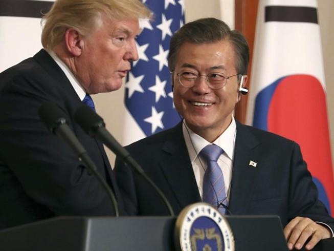Tổng thống Moon: Ông Trump xứng đáng nhận Nobel Hòa bình