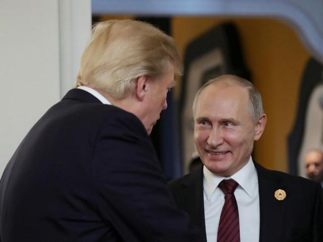 Ông Trump chúc mừng ông Putin nhậm chức Tổng thống Nga