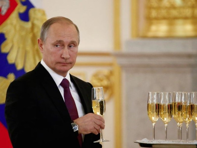 Ông Putin mất vị trí nhân vật quyền lực số 1 thế giới