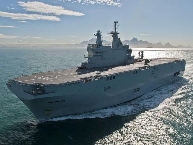 Pháp đưa tàu chiến tới tập trận ở biển Đông