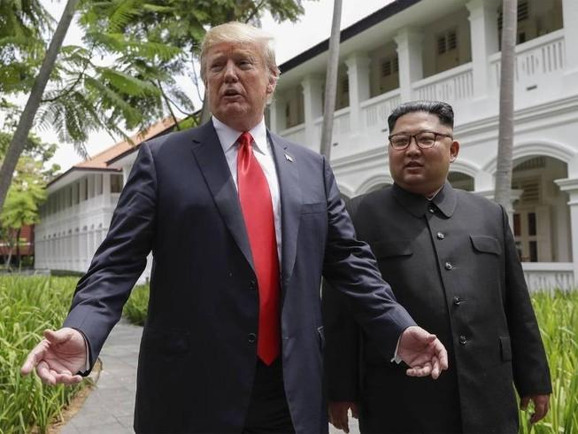 Ông Kim: Ông Trump đồng ý gỡ bỏ trừng phạt Triều Tiên
