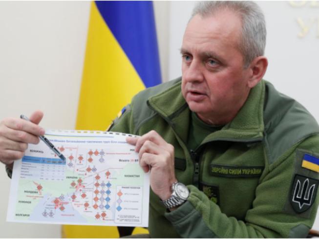 Dàn xe tăng Nga cách biên giới Ukraine chỉ 18 km