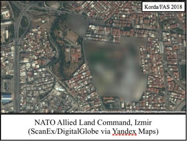 Bản đồ trực tuyến Nga làm lộ 2 căn cứ tuyệt mật của NATO