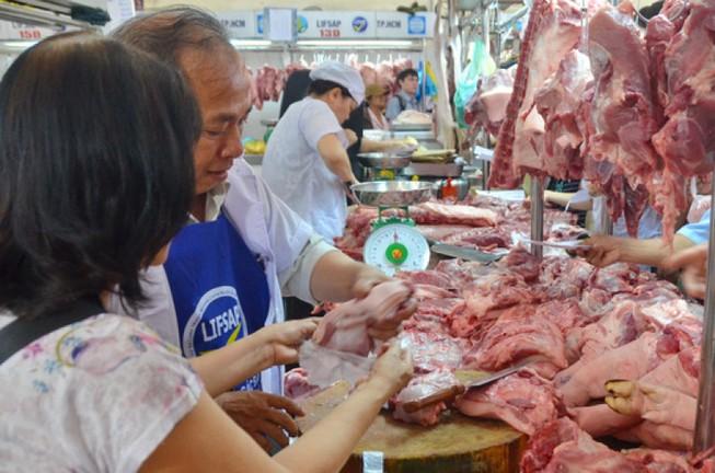 Giá thịt heo tăng ảnh hưởng đến lạm phát