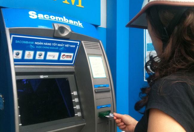 Sacombank tạm ngừng giao dịch ATM để nâng cấp