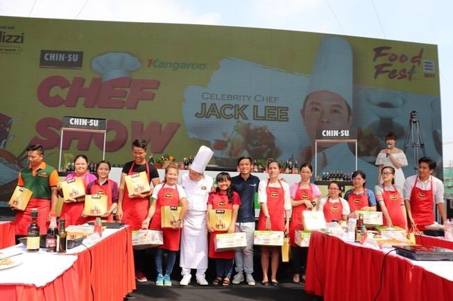 Chin-su đồng hành cùng Food Fest 2017