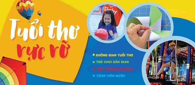 Chinh phục hè 'Tuổi thơ rực rỡ' với KizCiti ở Phú Mỹ Hưng