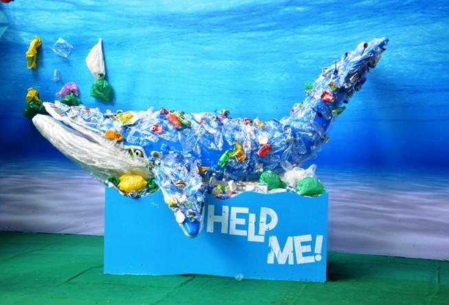 Nghĩ đến môi trường từ chất thải nhựa