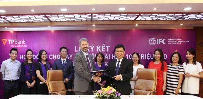 IFC thu xếp khoản vay dài hạn 100 triệu USD cho TPBank