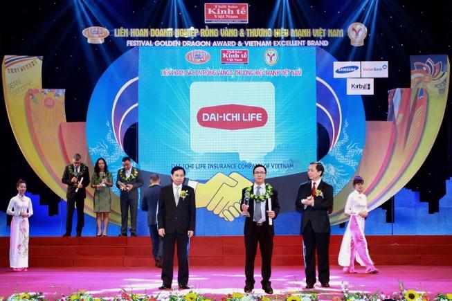 Dai-ichi Life Việt Nam vinh dự nhận Giải thưởng Rồng Vàng