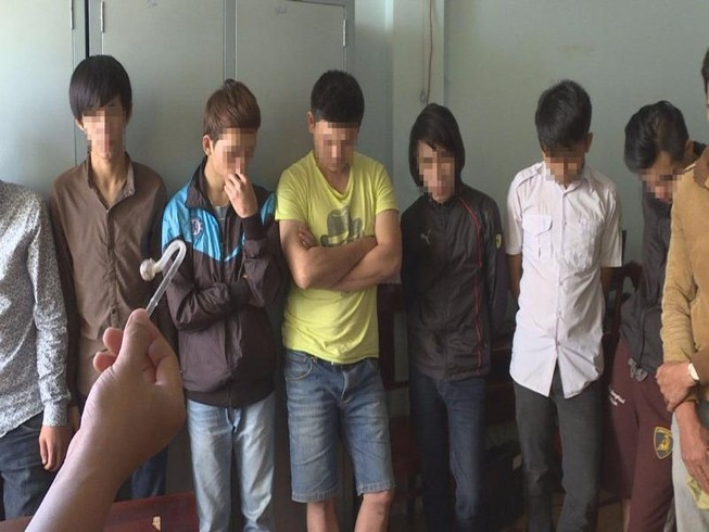 17 thanh niên dùng ma túy đá để tạo hưng phấn chơi game
