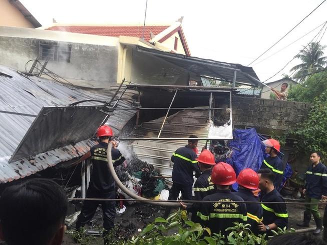 Bà cụ 86 tuổi thiệt mạng trong đám cháy ở Huế