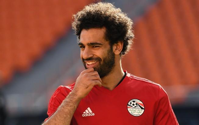 Salah thi đấu trận mở màn của Ai Cập đối đầu Uruguay