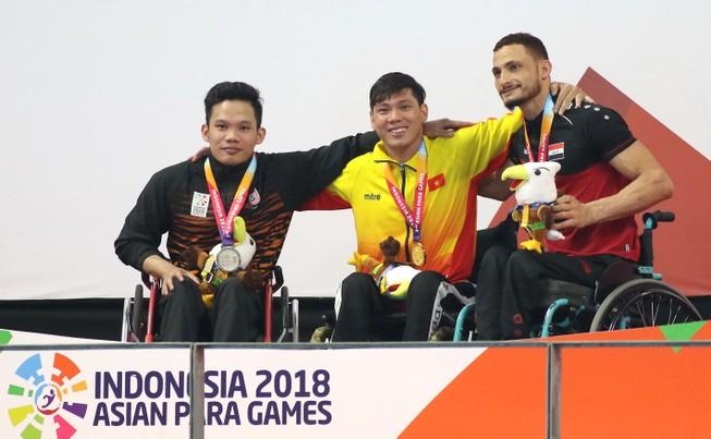 Võ Thanh Tùng đoạt HCV Asian Para Games, phá kỷ lục châu Á
