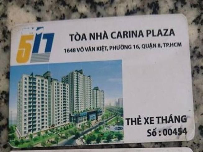 Vụ cháy Carina: 'Đến cái thẻ xe cũng ghi 577'