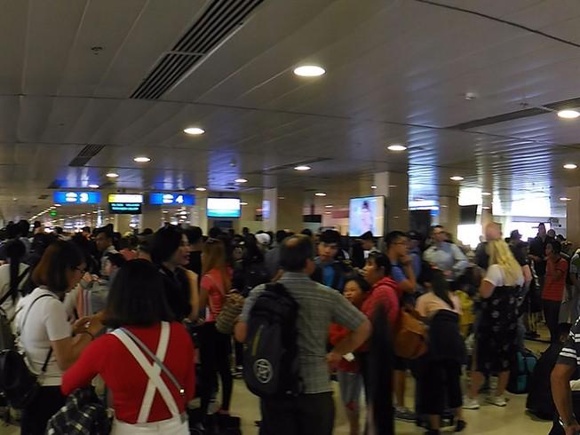 Sân bay Tân Sơn Nhất lưu ý trộm cắp dịp cận Tết
