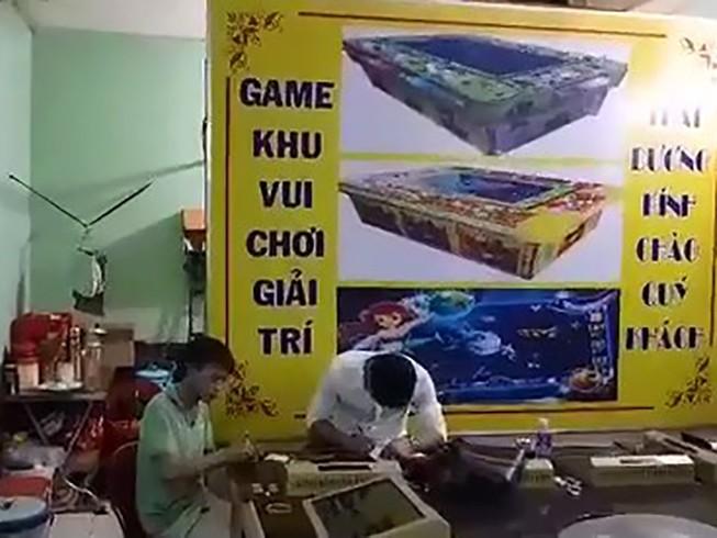 Phá ổ cờ bạc núp bóng tiệm game bắn cá ở quận 11