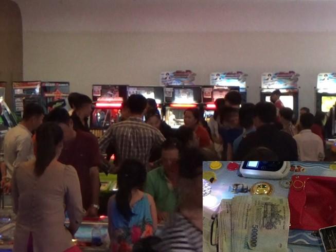 Ổ cờ bạc tinh vi trong trung tâm thương mại Aeon Mall