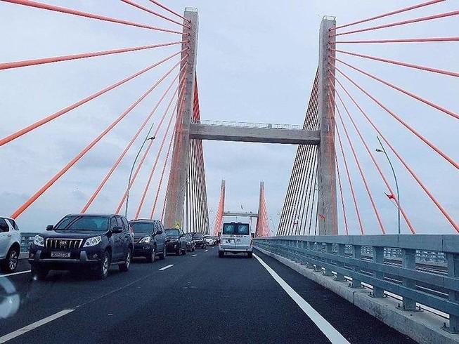 Nghiên cứu giảm tốc độ xe qua cầu Bạch Đằng