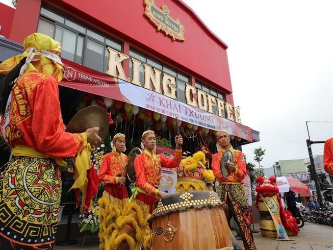 King coffee® khai trương chuỗi quán tại Việt Nam