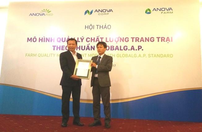 Trại heo đầu tiên tại Việt Nam đạt GlobalG.A.P