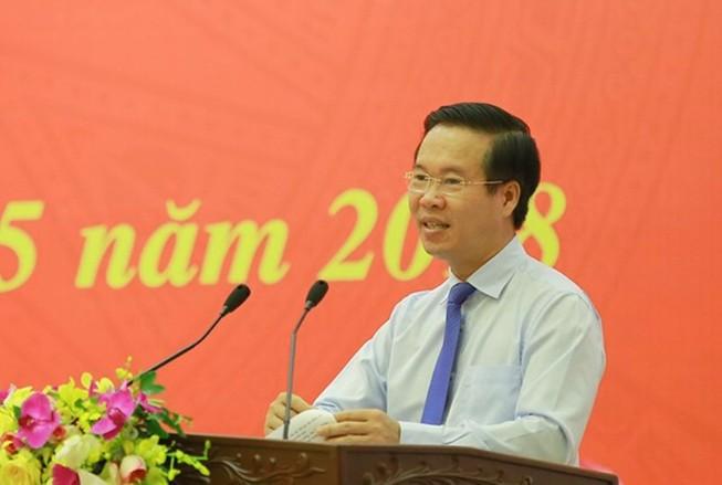 Ông Võ Văn Thưởng: Có cán bộ giữ chức cao vi phạm pháp luật